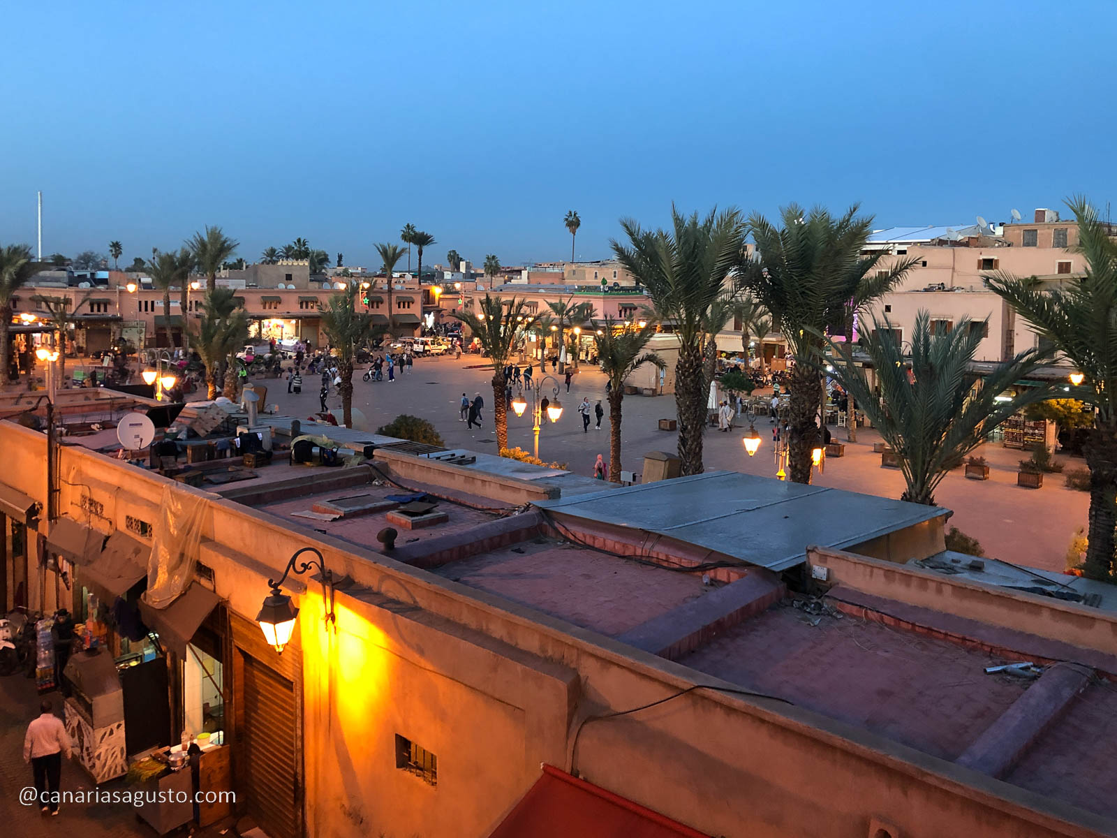 Plaza Marruecos