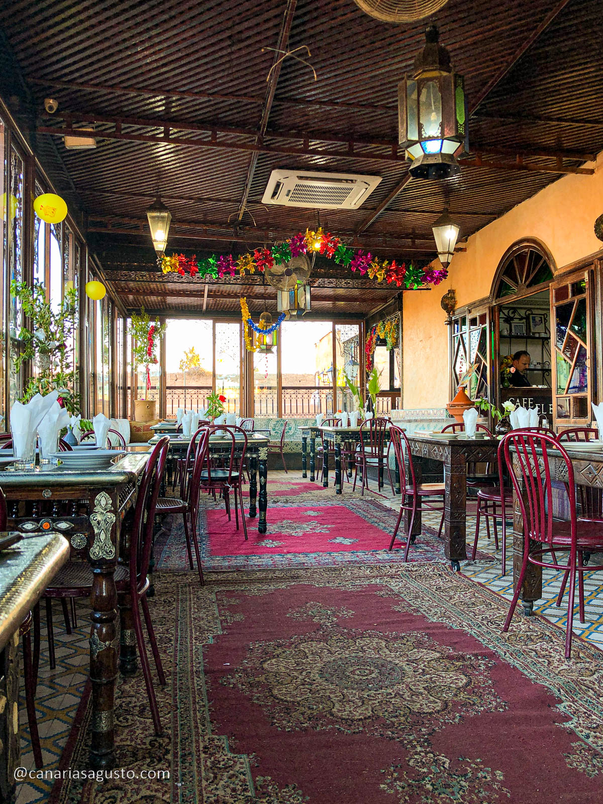 Restaurante Palais El Badia Marrakesh