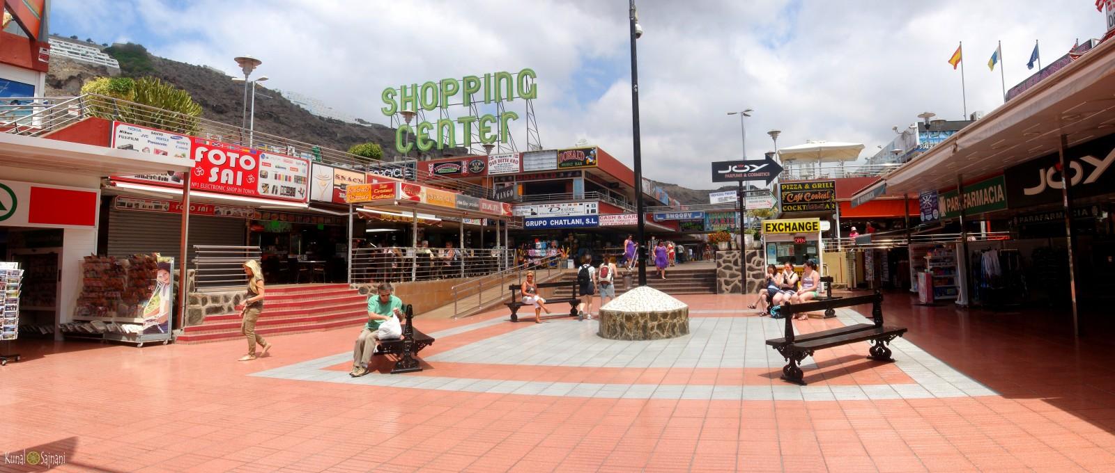 Centro Comercial Puerto Rico Gran Canaria