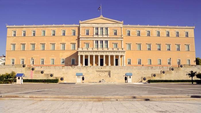 Edificio Parlamento Griego
