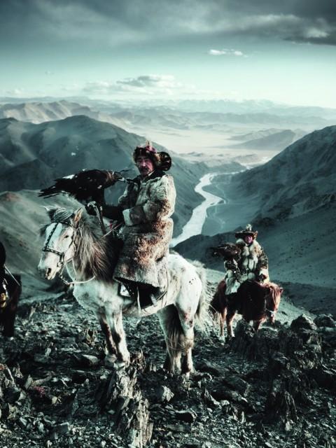 Caza con Aguila en Kazakastan