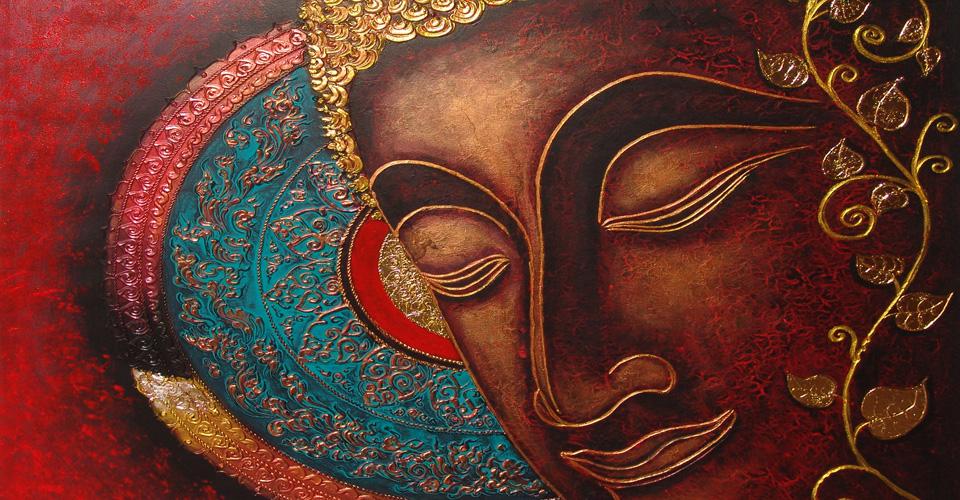 Obra arte Buda